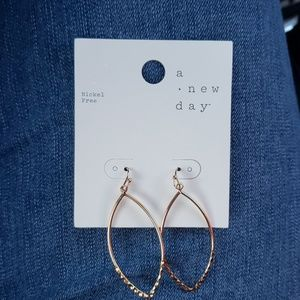 3/$12 Gold color earrings